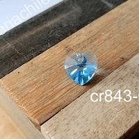 Cristal austriaco en forma de corazón, 10 x 10 mm, por unidad