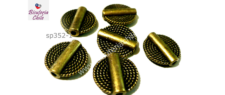 Separador envejecido, 15 mm de diámetro set de 5 unidades