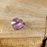 Cristal austriaco en forma de corazón lila, 10 x 10 mm, por unidad