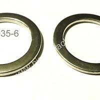 Argollas plateadas planas, 28 mm de diámetro, set de 2 unidades