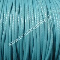 Simil cuero color celeste, 1,5 mm de espesor, por metro