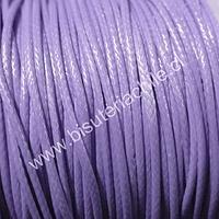 Simil cuero color lila, 1 mm de espesor, rollo de 50 metros