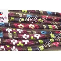 Cordón estilo étnico, 7 mm de ancho, tira de 1 metro