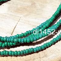 Madera de coco color verde, 3 mm de ancho, tira de 170 maderas aprox