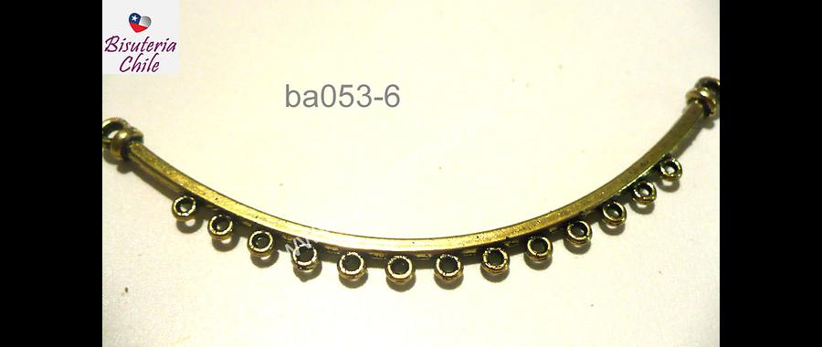Base decollar dorado 71 mm de largo