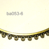 Base decollar dorado 71 mm de largo