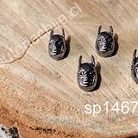 Separador batman en color negro, 14 x 8 mm, set de 4 unidades