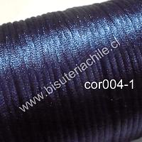 Cola de ratón azul 2 mm de ancho