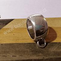 Separador con argolla gran tamaño, 22 x 12 mm, agujero de agujero de 17 mm, por unidad