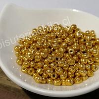 Mostacillón dorado, bolsa de 20 grs (6/0)