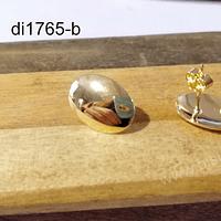 Base baño de aro,  15 x 10 mm, por par