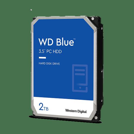 DISCO DURO 2TB WESTERN DIGITAL SATA3 3.5