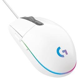 Mouse Gamer Logitech G203 RGB Lightsync USB Blanco - 8000 DPI - 1000Hz