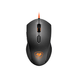 Mouse Gamer Cougar Minos X2, Sensor Óptico (ADNS-3050), USB, 3000 DPI, LED Naranja