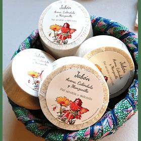 Jabón de Avena, Caléndula y Manzanilla