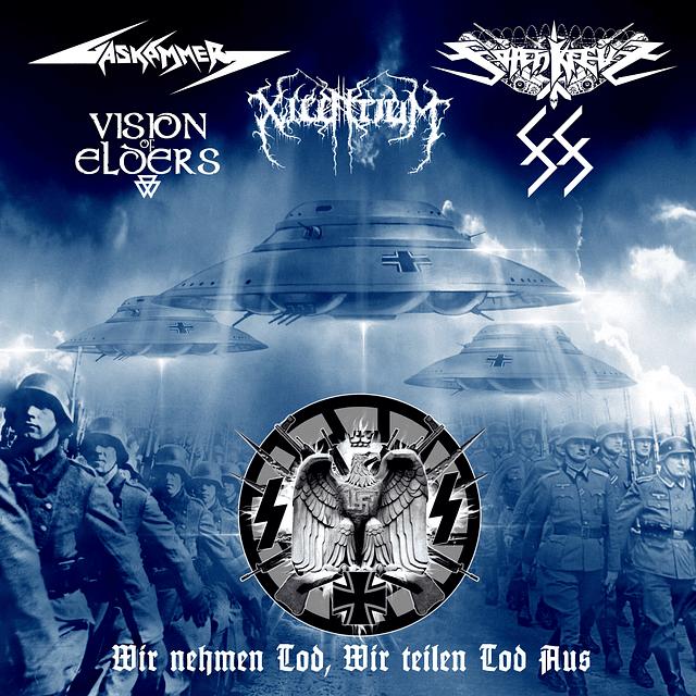 Xilentium / Gaskammer / Tötenkreuz / 88 / Vision of Elders-Wir Nehmen Tod, Wir Teilen Tod Aus (CD)