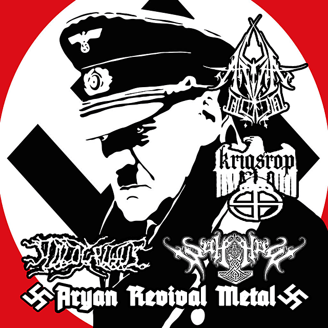 Aryan Blood / Holocaustus / Wulfhere / Krigsrop-Aryan Revival Metal (CD)