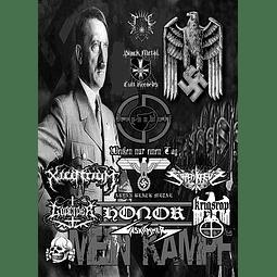 Xilentium / Honor / Krigsrop / Tötenkreuz/ Gaskammer / Weissen Nur Einen Tag / Godcider-Mein Kampf (DVD)
