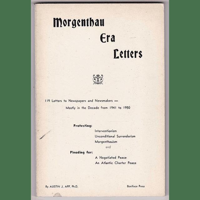 Austin J. App-Morgenthau Era Letters (BOOK)