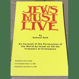 Samuel Roth-Jews Must Live (BOOK)