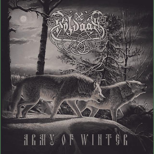 Holdaar-Army of Winter (CD)