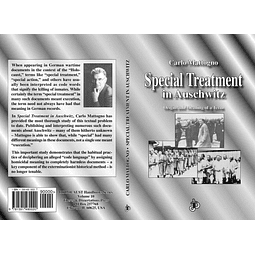 Carlo Mattogno-Special Treatment In Auschwitz: Origin And Meaning Of A Term (BOOK)