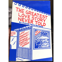 Pastor Pete Peters-The Greatest Love Story Never Told (BOOK)
