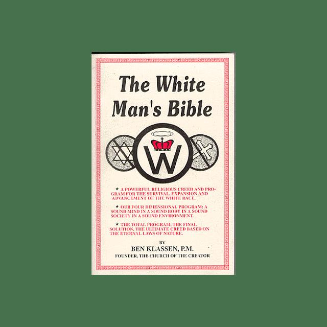 Ben Klassen-The White Man's Bible (BOOK)