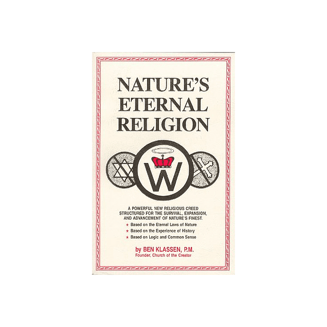 Ben Klassen-Nature's Eternal Religion (BOOK)