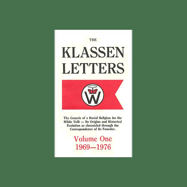 Ben Klassen-The Klassen Letters: Volume One 1969-1976 (BOOK)