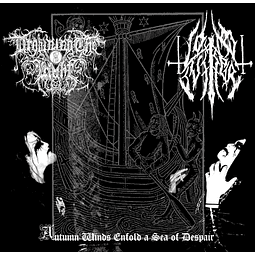Drowning the Light / Lone Suffer-Autumn Winds Enfold A Sea Of Despair (LP)