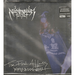 Nachtmystium-The First Attacks: Demos 2000 - 2001 (LP)