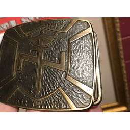 Aryan Nations (Belt Buckle)