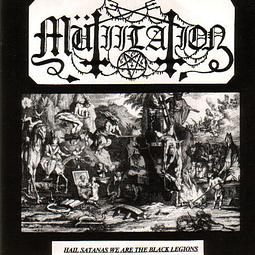Mütiilation-Hail Satanas We Are The Black Legions (LP)