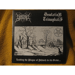 Bekhira / Desolation Triumphalis-Leading The Plague Of Yahweh To Its Grave... (LP)