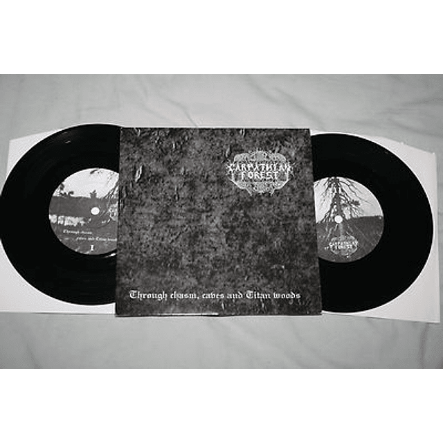 Carpathian Forest-Through Chasm, Caves And Titan Woods (LP)
