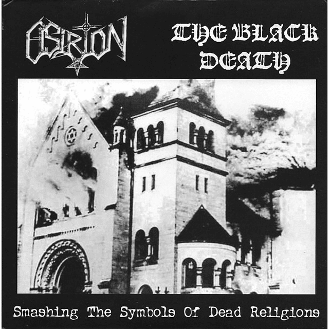 Osirion / The Black Death-Smashing The Symbols Of Dead Religions (LP)
