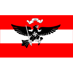 Hitler Youth Regimental Red (FLAG)