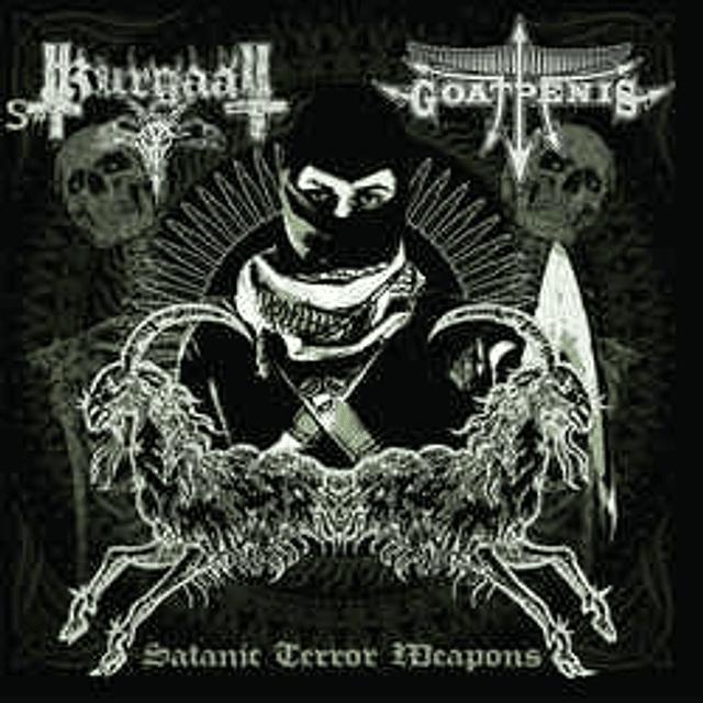 Goatpenis / Kurgaal-Satanic Terror Weapons (CD)