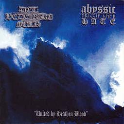 Abyssic Hate / Det Hedenske Folk-United By Heathen Blood (CD)