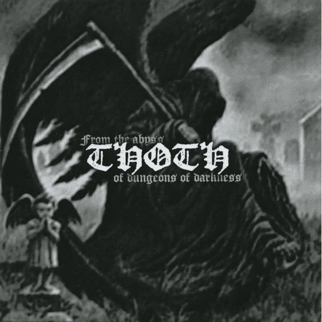 Thoth-From The Abyss Of Dungeons Of Darkness (CD)