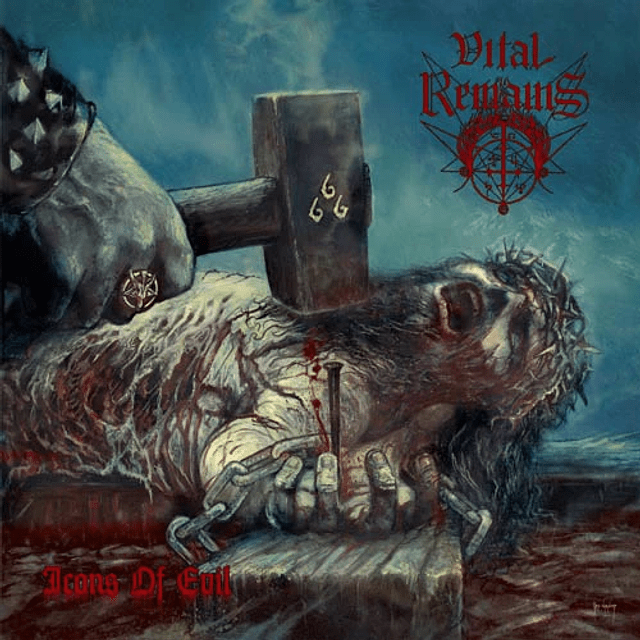 Vital Remains-Icons of Evil (CD)
