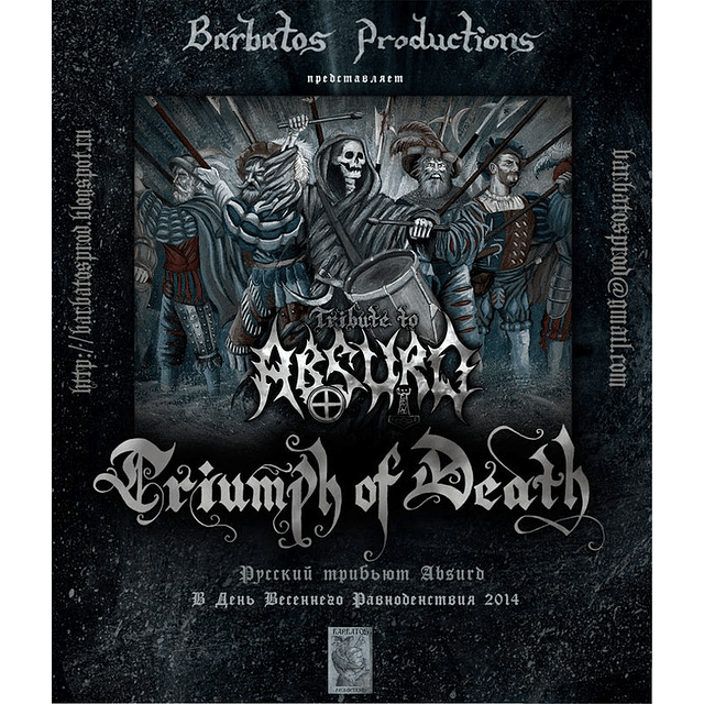 Triumph Of Death (Tribute To Absurd) (CD)