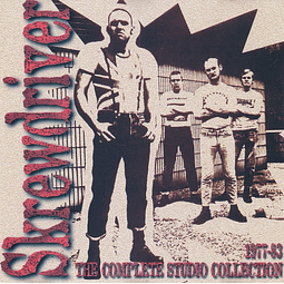 Skrewdriver-1977-83 The Complete Studio Collection (CD)