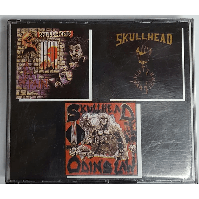 Skullhead-A Cry Of Pain / White Warrior / Odin's Law (CD)