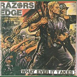 Razors Edge-What Ever It Takes! (CD)