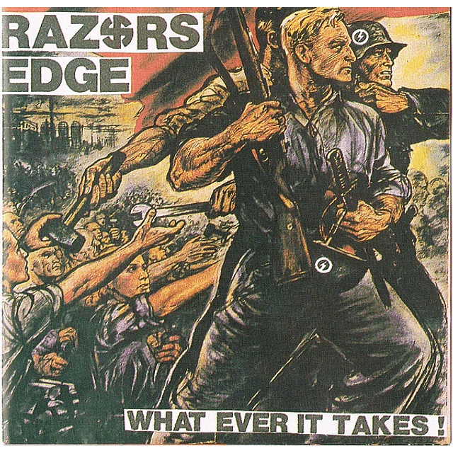Razors Edge-What Ever It Takes! (CD)