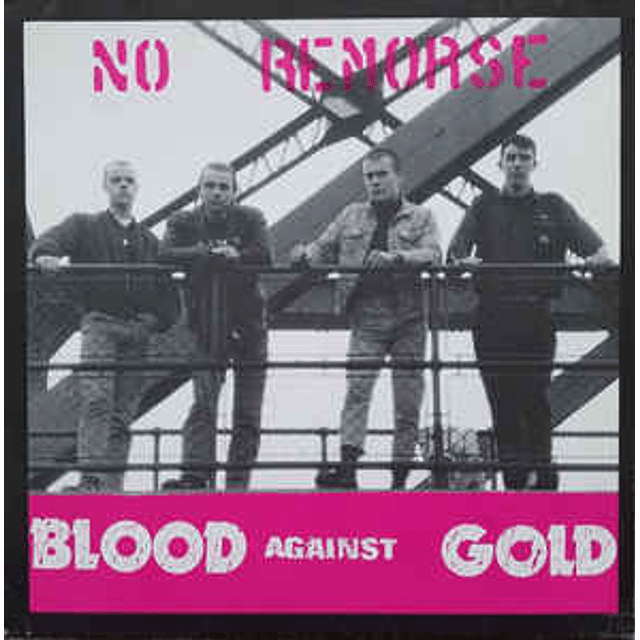 No Remorse-Blood Against Gold (CD)