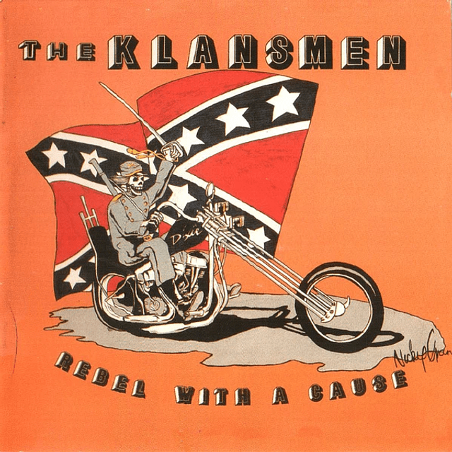 The Klansmen-Rebel With A Cause (CD)