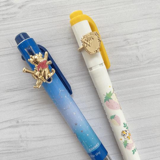 Charm Pen Winnie the Pooh & Piglet Stars